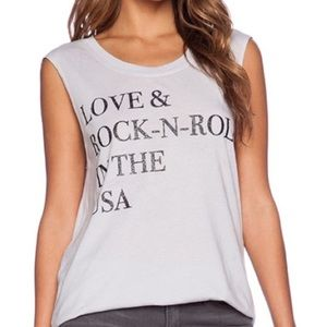 Chaser Burnout Tank Top Rock n Roll